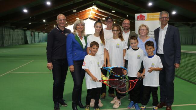 Neusiedl am See Tennishalle vorerst wieder geöffnet