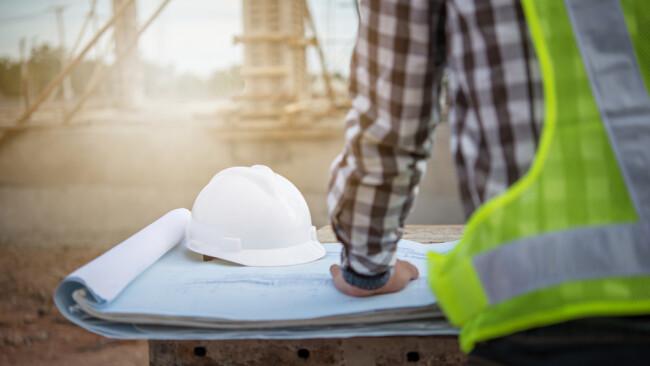 Bauen Bau Bauarbeiten Hausbau Baubranche Symbolbild