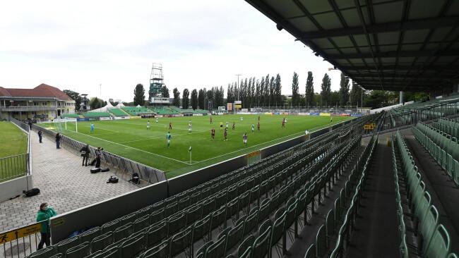 Pappelstadion SV Mattersburg Stadion Symbolbild