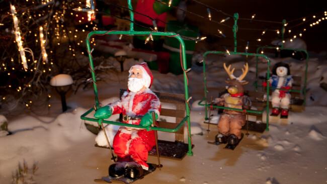 Weihnachtshaus: Lichter gehen aus