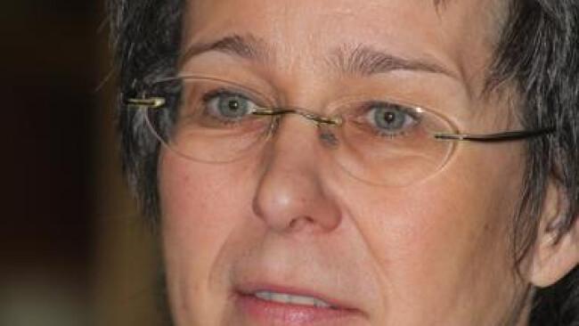 Regina Petrik Not amused. Regina Petrik konnte ihren Kollegen nicht überzeugen.