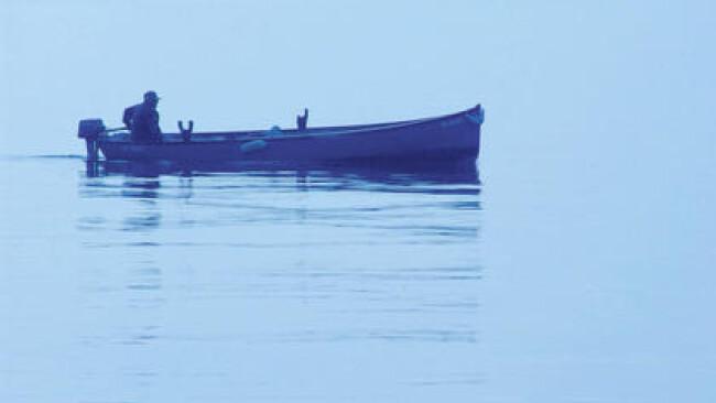 Fischerboot See