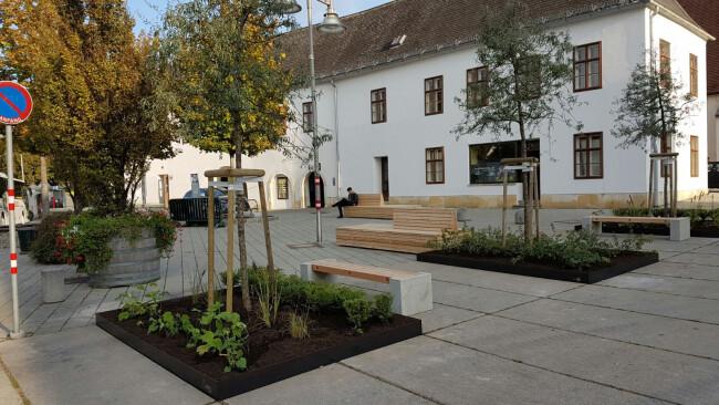 Domplatz Eisenstadt neu