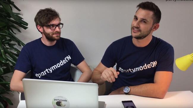 Startup Challenge Burgenland 2017 Partymode