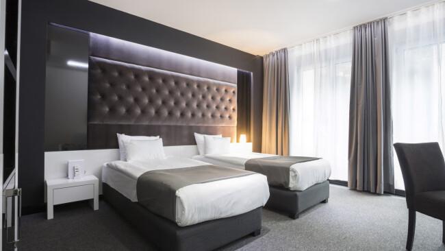 Hotel Tourismus Gastronomie Hotels Zimmer Schlafzimmer Symbolbild