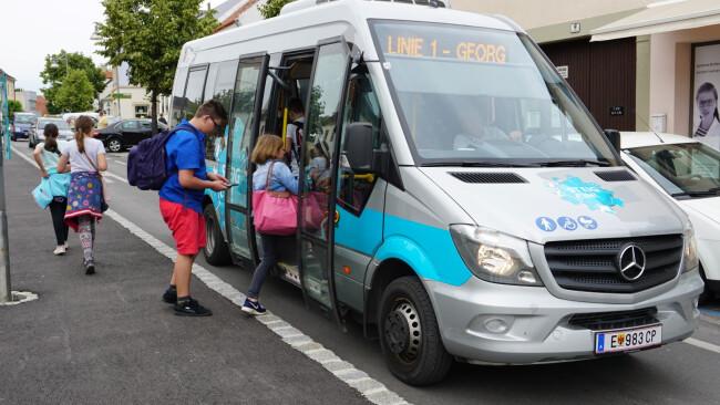 Stadtbus ist nun Eisenstädter