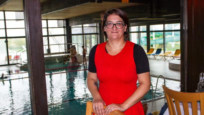 Petra Magg Neusiedl am See Neue Pächterin für Hallenbad-Restaurant
