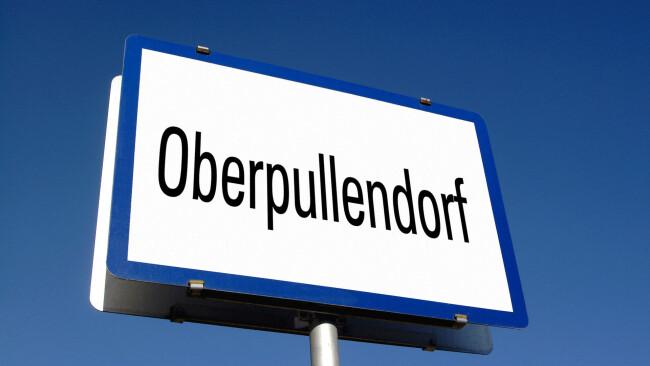 Oberpullendorf Wahl Ortstafel Symbolbild