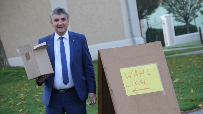 Bürgermeister Walter Temmel Bildein