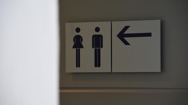 WC Toilette Klo Frau Mann Symbolbild