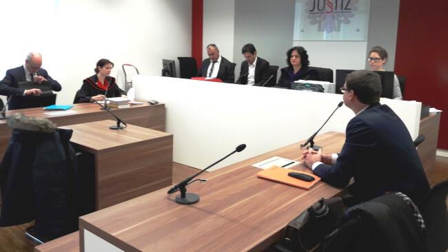 Eisenstadt Prozess In Magistrats-Kasse gegriffen