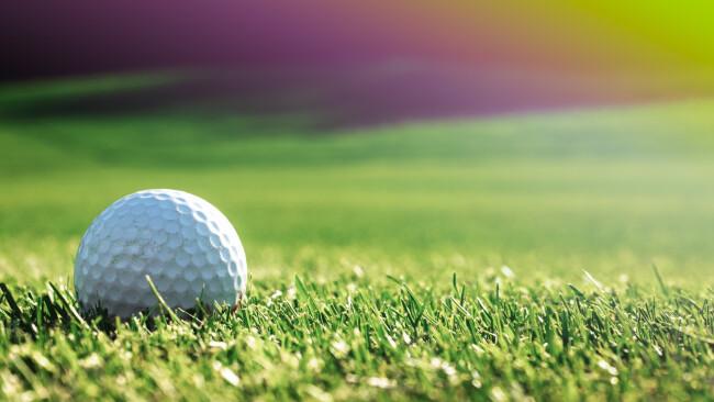 Golf Golfball Symbolbild