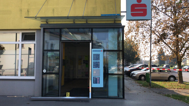Kittsee - Bankomat aus Verankerung gerissen und gestohlen