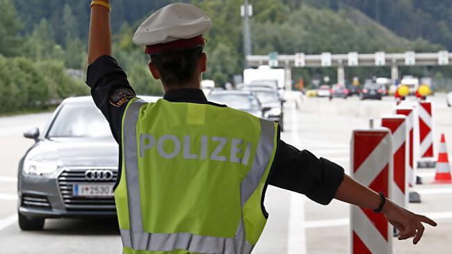 Die Grenzpolizei hat aktuell viel zu tun