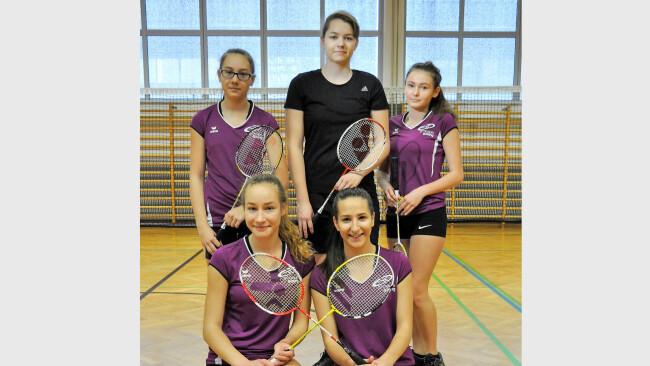 Badminton Sieg für Mädchen des BORG GÜSSING