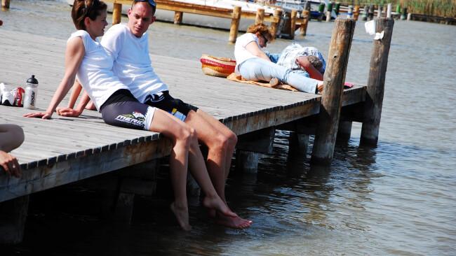 Sehr gute Wassergüte Messpraxis Bezirk Eisenstadt Mörbisch Seebad Rust