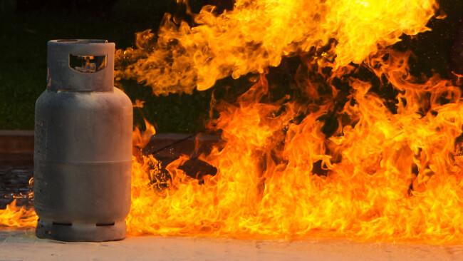 Gasflasche Symbolbild