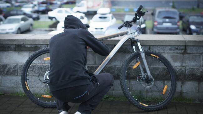 Fahrrad Fahrraddieb Fahrraddiebstahl Symbolbild