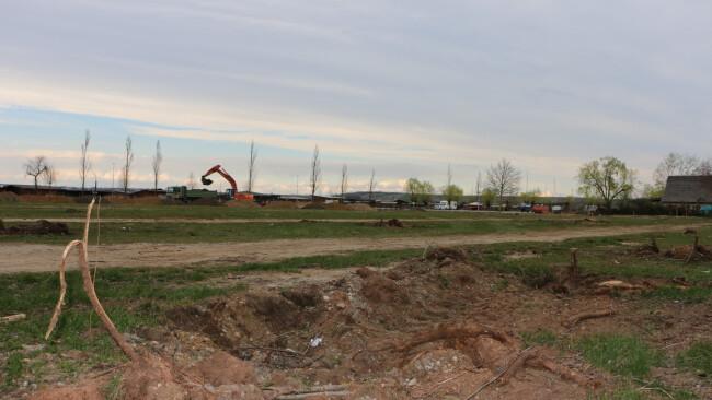 Neugestaltung im Seebad Weiden am See Parkplatz: Aufregung um gefällte Bäume