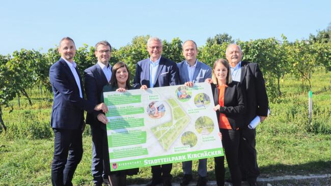 Ein neuer Stadtpark für Eisenstadt