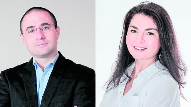 Josef Buchinger und Sonja Csitkovics