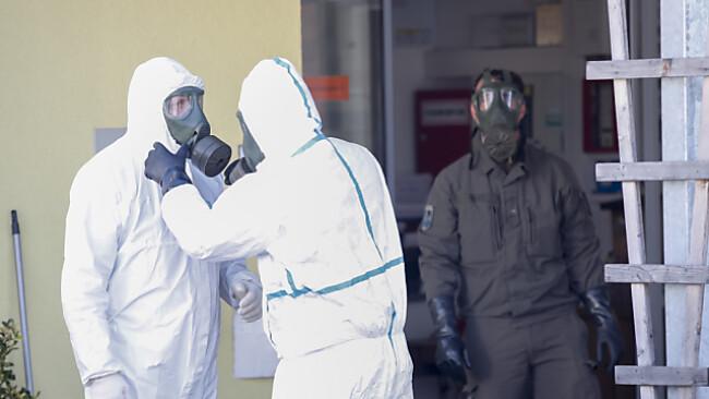 Das Bundesheer musste im Pfegeheim Tannenhof eingreifen