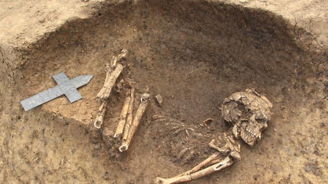 6000 Jahre altes Skelett