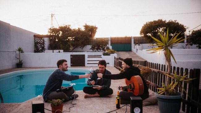 Jonathan Reiner, Julian le Play und Lukas Hillebrand