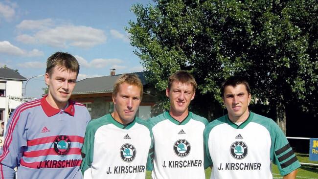 Alte Spieler des FC Mönchhof
