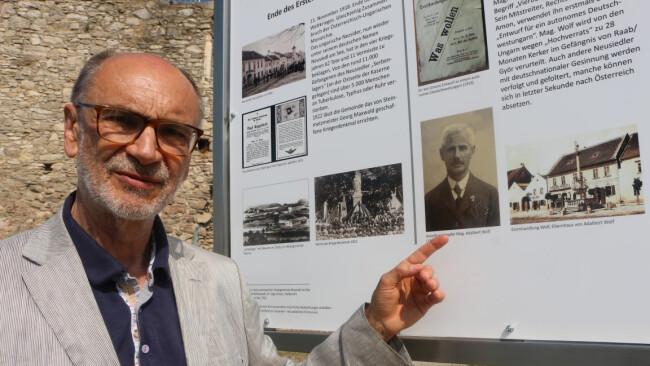 Bucherscheinung über vergessenen Burgenländer