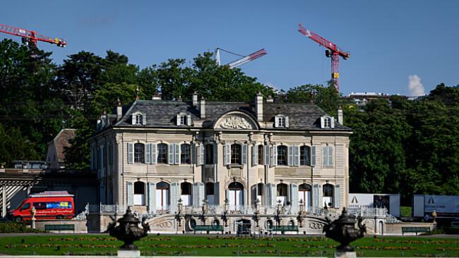 """Biden und Putin konferieren in der """"Villa La Grange"""" bei Genf"""
