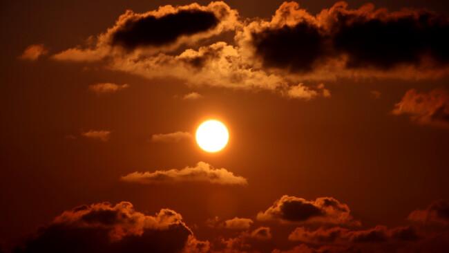Somme Sonne Symbolbild