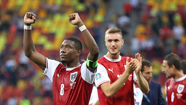 Alaba darf mit dem ÖFB-Team über einen Meilenstein jubeln