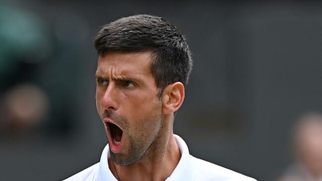 Djokovic souverän ins Wimbledon-Halbfinale