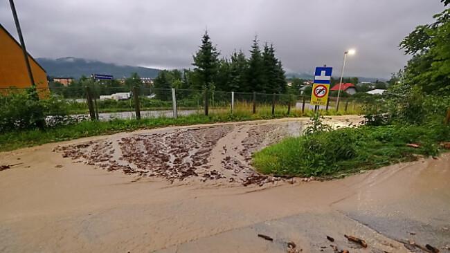 Starkregen fordert die Feuerwehren in Salzburg