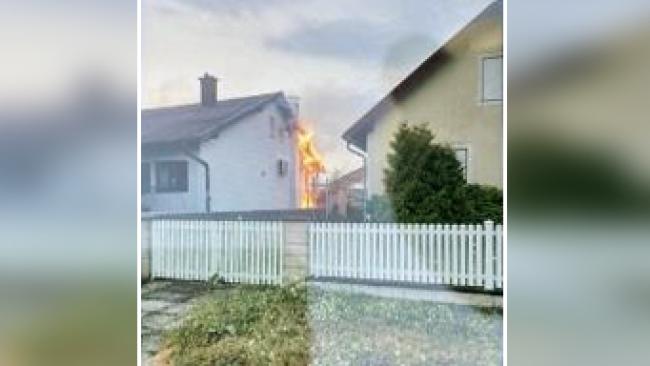 Brand Einfamilienhaus in Potzneusiedl