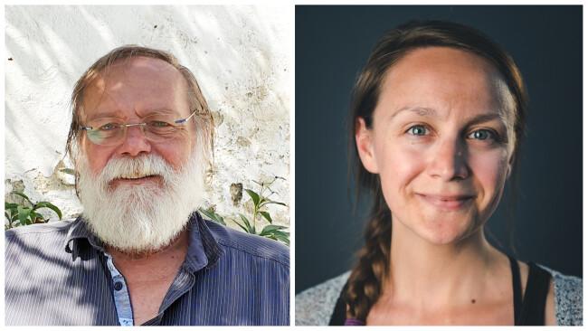 Wolfgang Weisgram und Johanna Sebauer