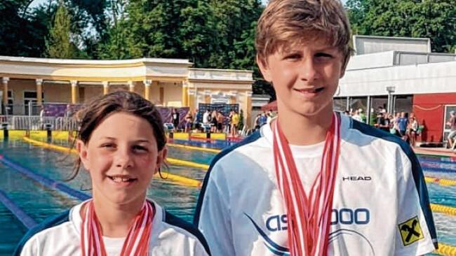 Jugend-ÖM - Giefing-Geschwister als nationale Medaillenhamster