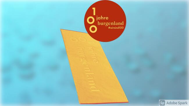 100 Jahre Burgenland Gewinnspiel Handtuch