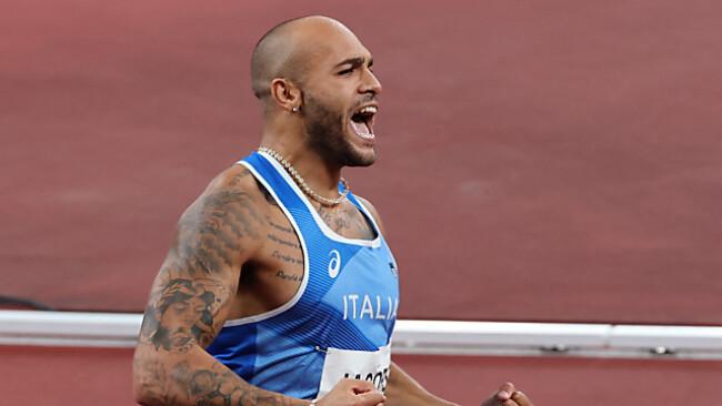 Überraschungssieger: Italiener Jacobs als Nachfolger von Usain Bolt