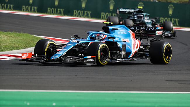Ocon fährt knapp vor Vettel zu seinem ersten Grand-Prix-Sieg