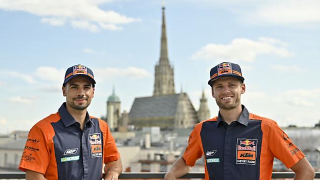 KTM-Piloten Oliveira und Binder vor MotoGP-Heimrennen in Spielberg