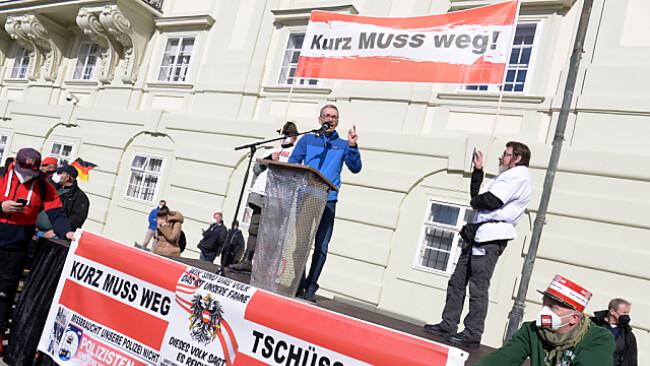 Die FPÖ - im Bild Parteichef Kickl - punktet bei Corona-Zweiflern