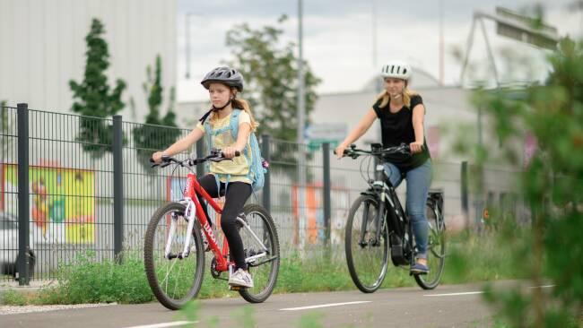 Schulweg Rad