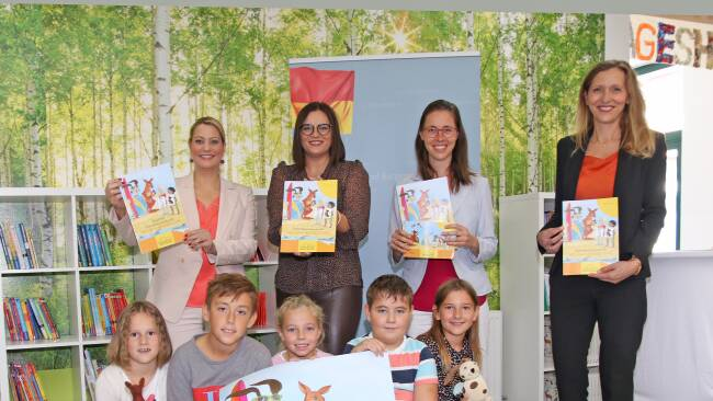 Neu für Volksschulen im Burgenland: Englisch und Tierschutz im Doppelpack