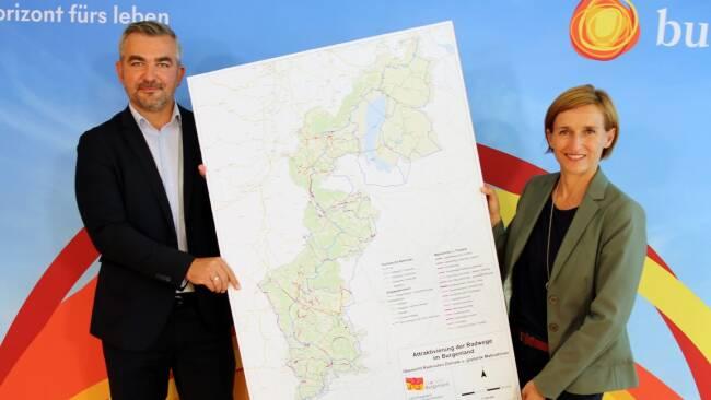 Dorner: 25 Mio. Euro für landesweites Radnetz in den nächsten fünf Jahren