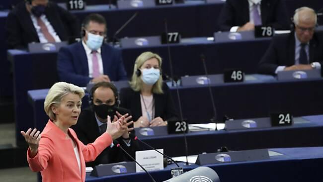 Von der Leyens zweite Rede zur Lage der EU
