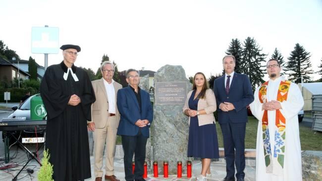 Holocaust Gedenkstein Stegersbach
