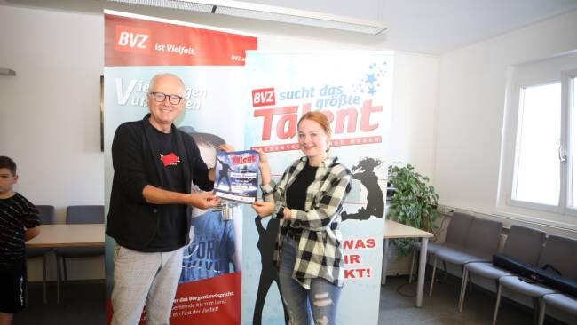 Nadine Bierbauer BVZ sucht das größte Talent