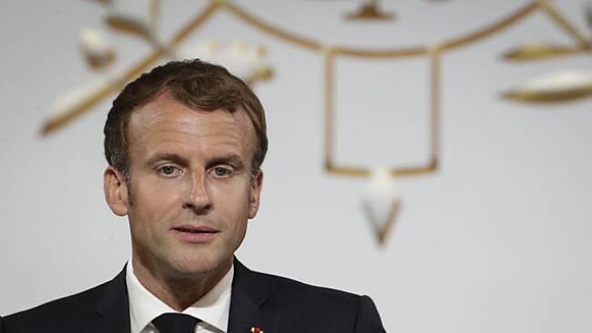Macron war wegen geplatzen U-Boot-Deal verärgert